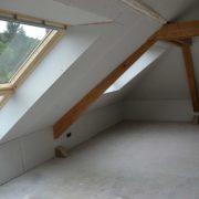 Aménagement des combles d'une maison à Thur-Doller