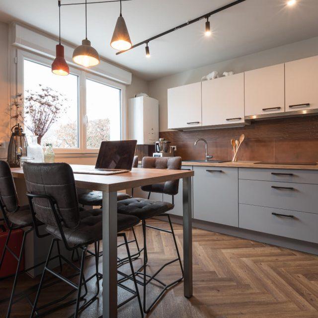 Rénovation appartement Soultz, Cuisine