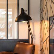 Rénovation appartement Soultz, lampe