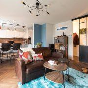 Rénovation appartement Soultz, séjour ouvert